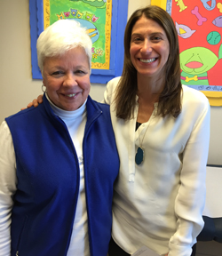 Dana Czuzcka & Cathy Peters, CLC