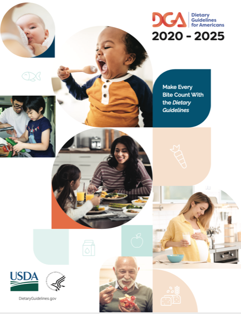 Dietary guidelines for Americans 2020 - 2025