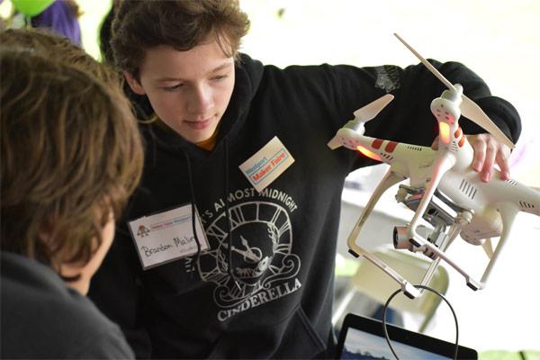 Maker Faire Drone