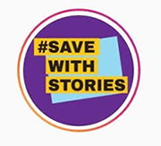 Save with Stories - Hashtag