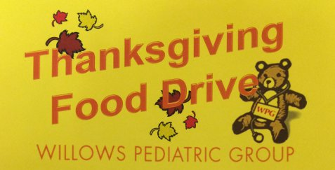 Thanksgiving Food Drive 2015