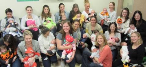 Willows Pediatrics newborn support group photo