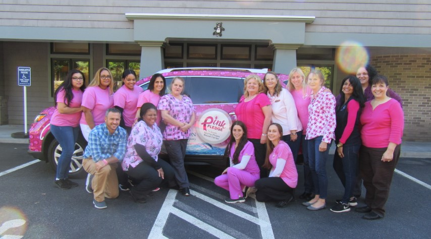 Willows Pediatrics gives back - Breast cancer research and awareness Pink Pledge
