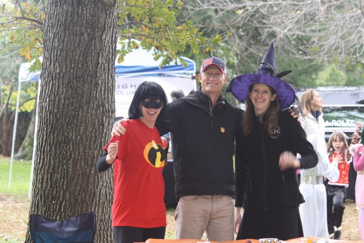 Willows Pediatrics gives back - Celebrating Halloween on the green